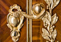 Luxury door handle Stock Photos