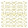 Luxury exotic VINT. Mandalas gold -- white Authentic
