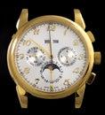 Luxury gold watch Royalty Free Stock Photo