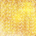 Luxury golden pattern with mixed small spots texture on background seamless vector background Royalty Free Stock Images