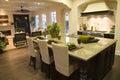 Luxury home kitchen. Royalty Free Stock Photo