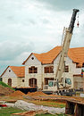 Luxury Home Under Construction 3 Royalty Free Stock Images