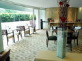 Luxury hotel buffet restaurant Stock Photography