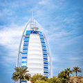 Luxury hotel in Dubai Royalty Free Stock Photo