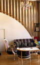 Luxury hotel living room Royalty Free Stock Photo