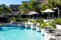 Luxury hotel in mauritius island Royalty Free Stock Photo