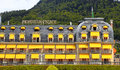 Luxury hotel in Montreux, Switzerland Stock Photography