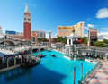 Luxury Hotel wide angle, Las Vegas Royalty Free Stock Images