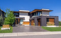 Luxury house, Calgary Royalty Free Stock Photo