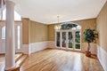 Luxury house interior. Empty entrance hallway Royalty Free Stock Photo