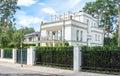 Luxury house modern family villa Stock Image