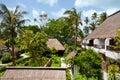 Luxury houses in ko samui thailand Royalty Free Stock Photo