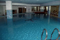 Luxury indoor swimming pool Royalty Free Stock Photo
