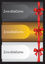 Luxury invitation cards Royalty Free Stock Image