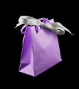 Luxury jewelry Gift bag Stock Photography