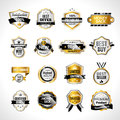 Luxury Labels Gold And Black