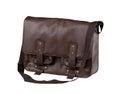 Luxury leather handbag or briefcase Stock Photos