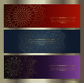Luxury Mandala banner designs