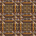 Luxury Metal Seamless Pattern Royalty Free Stock Image