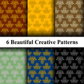 Luxury Ornamental Pattern Royalty Free Stock Photo
