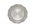 Luxury pewter dish Royalty Free Stock Photography