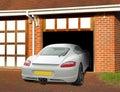 Luxury Porsche Caymen Sports Car