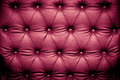 Luxury purple leather texture with buttoned pattern Royalty Free Stock Photo