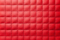 Luxury red leather texture close up Royalty Free Stock Photos