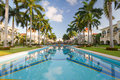 Luxury resort in Mexico Royalty Free Stock Photo