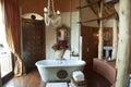 Luxury bathroom Safari Lodge Royalty Free Stock Photo