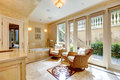 Luxury sauna anteroom Royalty Free Stock Photo