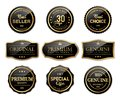 Luxury seal labels and premium quality product