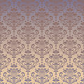 Luxury seamless golden floral wallpaper Royalty Free Stock Photo