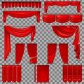 Red Velvet Curtains Background Free Stock Photo Public
