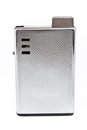 Luxury silver lighter Royalty Free Stock Photography
