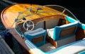 Luxury speedboat Royalty Free Stock Photo