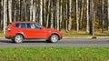 Luxury sport utility vehicle Royalty Free Stock Photo