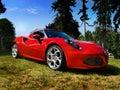 Alfa Romeo, Sports Cars Royalty Free Stock Photo