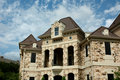 Luxury Stone House Royalty Free Stock Photo