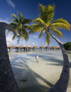 Luxury Vacation - French Polynesia - South Pacific Stock Photos