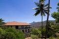 Luxury villa amidst nature Royalty Free Stock Photo