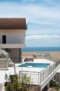 Luxury villa for summer enjoyment Royalty Free Stock Photo