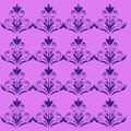 Luxury exotic VINT. Mandalas ethnic pink purple