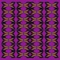 Luxury exotic VINT. Wellness mandalas Ornaments Purple black artwork