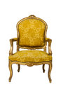 Luxury vintage armchair Royalty Free Stock Photography
