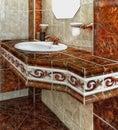Luxury Vintage Bathroom Lifestyle Royalty Free Stock Photo