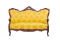 Luxury vintage sofa Stock Photo