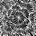 Luxury wallpaper. Vintage Floral pattern Vector background. Royalty Free Stock Photo