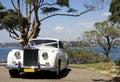 Luxury Wedding Car Royalty Free Stock Photo