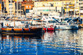 Luxury yachting club in Catalonia Royalty Free Stock Photo